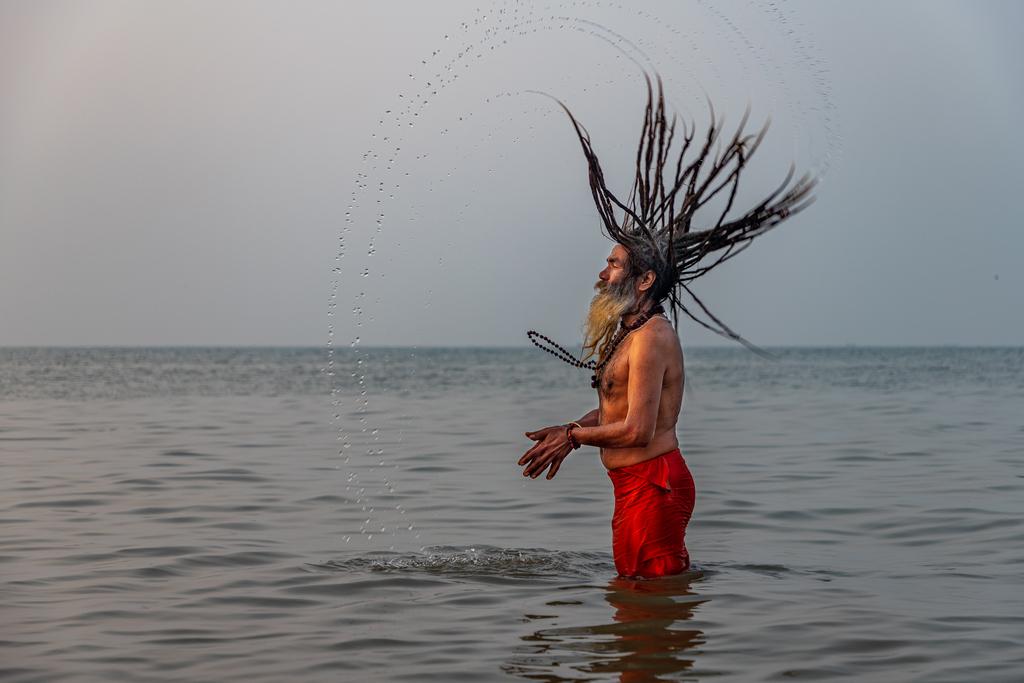 Gangasagar-Sadhu